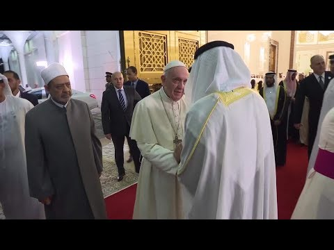 Xxx Mp4 Crown Prince And Grand Imam Receive Pope Francis In Abu Dhabi 3gp Sex
