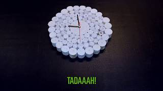 How to make a Clock out of Paper Scraps