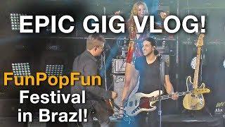 EPIC GIG VLOG - I WENT TO BRAZIL - AMAZING GIG - LIVING THE DREAM