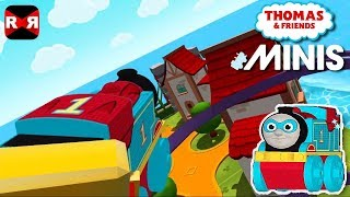 Thomas and Friends Minis - The Evergreen Peak Track with Hero Thomas - iOS / Android Gameplay