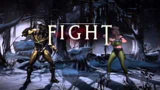 Mkx Triborg (Cyrax) ranked gameplay
