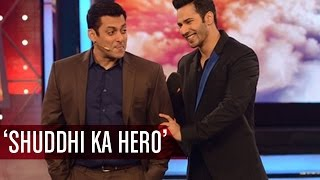 Wow!! Salman Khan ACKNOWLEDGES Varun Dhawan As 'Shuddhi Ka Hero' | Bollywood Gossip