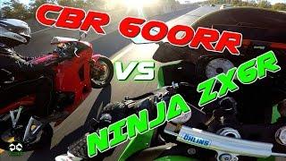 Ninja ZX6R Vs CBR 600RR