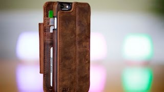 Doc Artisan Sport Genuine Leather Wallet Case w/Magnet Caseback (iPhone 6/s Plus)