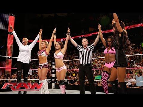Xxx Mp4 Brie Bella Naomi Natalya Vs Nikki Bella Cameron Summer Rae Raw Oct 13 2014 3gp Sex