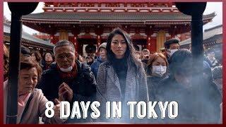 FIRST TIME IN TOKYO | JAPAN TRAVEL VLOG 2019