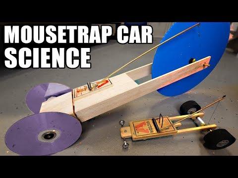 1st place Mousetrap Car Ideas using SCIENCE