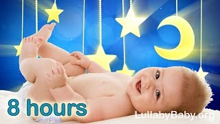 ☆ 8 HOURS ☆ Lullabies for babies to go to sleep ♫ ☆ MUSIC BOX ☆ Baby Lullaby Songs Go To Sleep