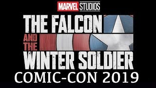 Marvel's The Falcon & The Winter Soldier SDCC reveal (2020) MCU Phase 4