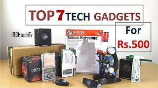 Top 7 Tech Under Rs 500   Tech Gadgets and Accessories