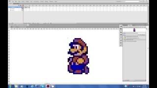How To Animate Sprites with Flash CS6 & Creative Cloud CS6, Featuring Super Mario