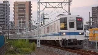 東武8000系8171F臨時回送 春日部~藤の牛島間通過 2016.10.7
