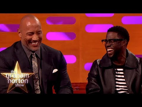 Kevin Hart Can t Believe Where Dwayne Johnson Was Born The Graham Norton Show