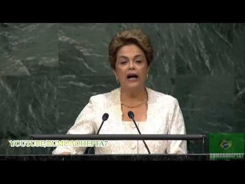 #SOS Coup In Brazil: Dilma diz na ONU: brasileiro saberá impedir retrocesso (GOLPE)