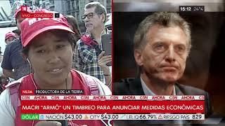 """La Realidad Que Macri No Va: """"Feriazo"""" Contra Hambre"""