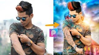 Manipulation photo like Cb Edit || Change Background + HDR effect || Picsart editing tutorial