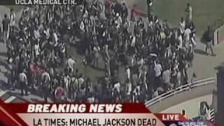 Breaking News: Michael Jackson Dead At 50,  6-25-09