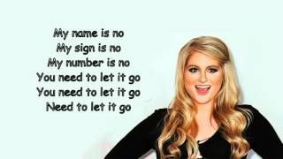 Meghan Trainor - No (Official Lyric Video)