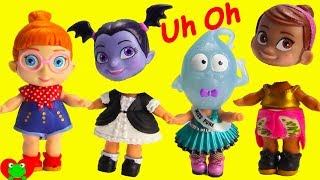Vampirina Wrong Heads with LOL Surprise Dolls and PJ Masks