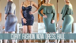 Curvy Fashion Nova Dress Haul