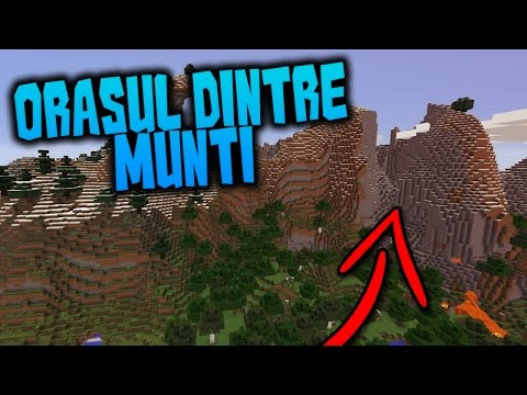 Gannicus joacă Minecraft LIVE ORAȘUL DINTRE MUNȚI