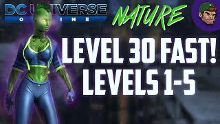 DCUO How To: Level 30 FAST! Levels 1-5
