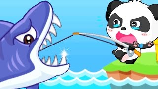 Baby Panda Fishing   Little Baby Fun Fishing And Learn About Sea Animals   Fun Game For Kids