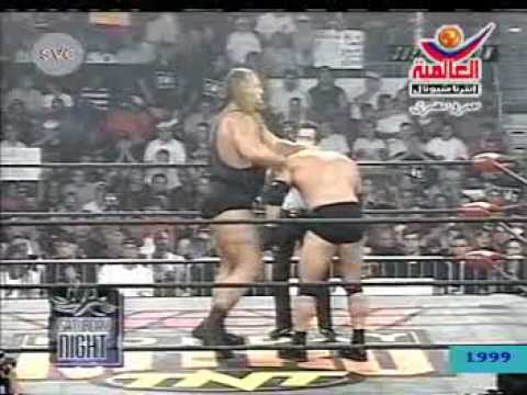 GOLDBERG vs The Gaint BigSHOW تعليق ممدوح فرج