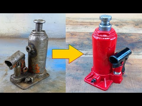 Xxx Mp4 Old And Rusted Hydraulic Jack Restoration 3gp Sex