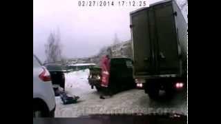 Wypadki drogowe Rosia MIX crash Rossia