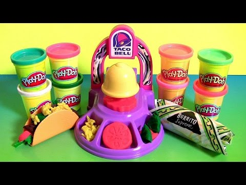 Xxx Mp4 Play Doh Taco Bell Playset DIY Waffle Tacos Burritos Nachos Play Dough Food Meal Clay Toys 3gp Sex