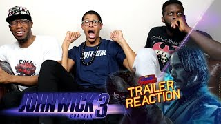 John Wick 3 Trailer 2 Reaction