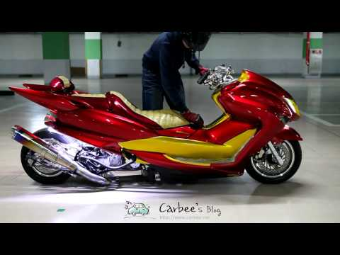 YAMAHA Monster New Majesty 4D9 Air Suspension
