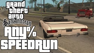 GTA San Andreas Any% Speedrun