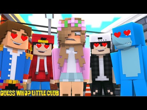 GUESS WHO?! THE LITTLE CLUB   Minecraft Little Kelly