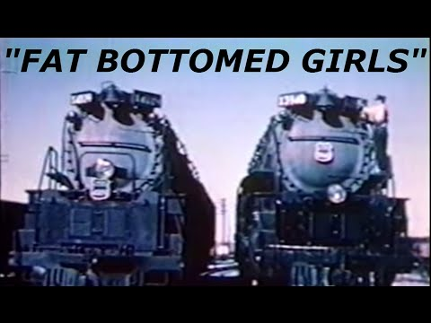 Xxx Mp4 Fat Bottomed Girls Union Pacific Big Boy And Challenger Music Video 3gp Sex