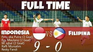 Cuplikan GOL (INDONESIA VS FILIPINA)U18 AFF
