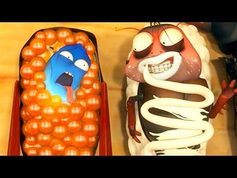 Xxx Mp4 LARVA SUSHI LARVA Cartoon Movie Cartoons For Children Larva Cartoon LARVA Official 3gp Sex