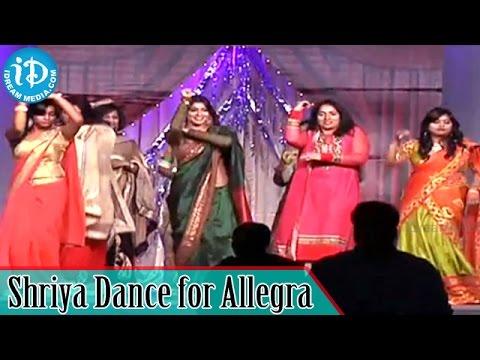 Shriya Saran Dance Performance for Allegra Song @ Womaania Ladies Night | New Jersey