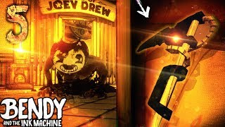 *SECRET WEAPON* IN CHAPTER 5 - SCYTHE!! | Bendy and the Ink Machine [Chapter 5] Hacking & Secrets