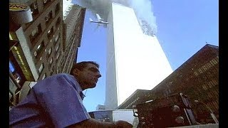 9/11 rare footage jumpers world trade center (WARNING Age-restricted video)