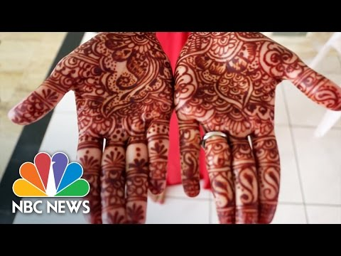 For Neha Assar, The Art Of Henna Flows Naturally | NBC News