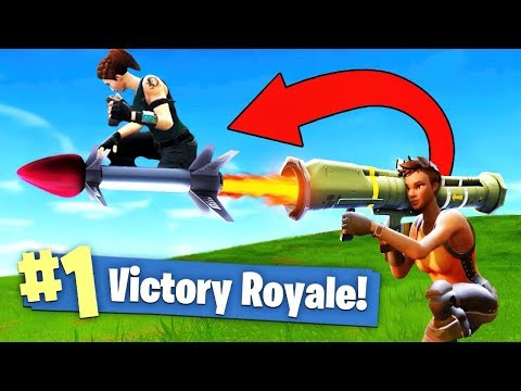 GUIDED MISSILE ROCKET RIDING In Fortnite Battle Royale