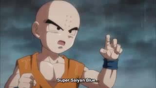 DB super krillin fights guko (kamehameha) full fight