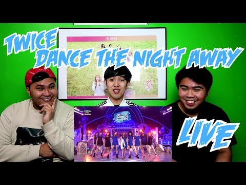TWICE - DANCE THE NIGHT AWAY LIVE REACTION (FUNNY FANBOYS)