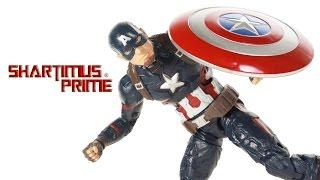 Marvel Legends Captain America Civil War Giant Man BAF Wave Toy Movie Action Figure Review