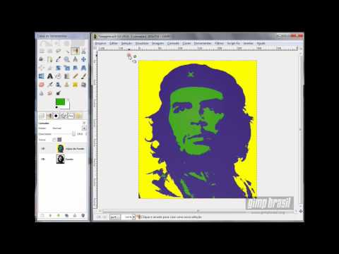 Tutorial GIMP Pop Art ou Warhol