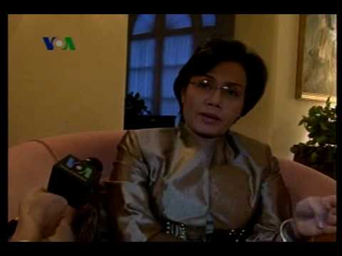 Penunjukan Sri Mulyani Dapat Tanggapan Positif - Laporan VOA 6 Mei 2010