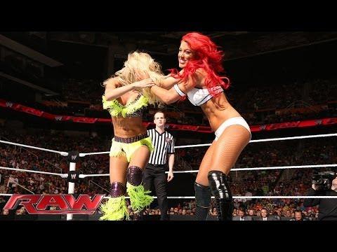 Eva Marie vs. Summer Rae: Raw, May 26, 2014