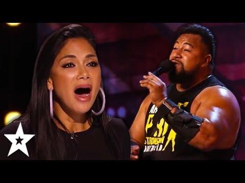 The STRONGEST Singer Ever SURPRISES Everyone On Australia s Got Talent 2019 Got Talent Global